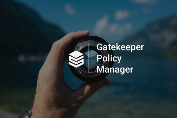 Easily manage OPA Gatekeeper rules with Gatekeeper Policy Manager